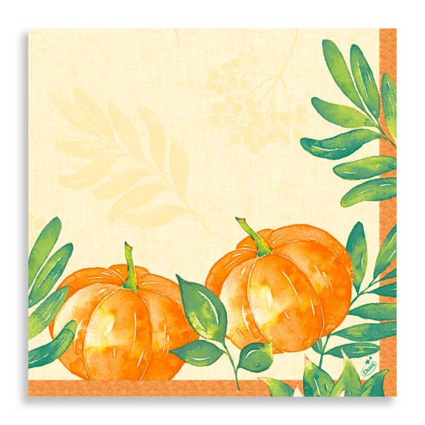 "40er Klassikserviette ""Pumpkin Spice"""