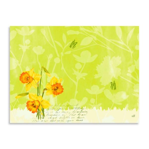 "Papier Tischsets ""Spring Flowers"""