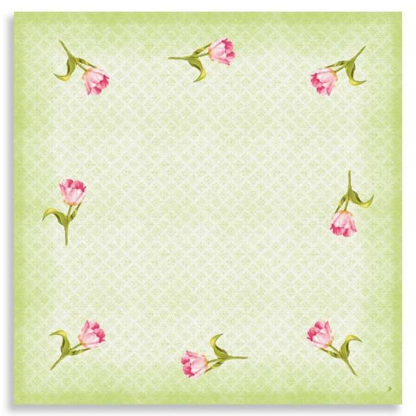 "Dunicel Mitteldecke ""Love Tulips"""