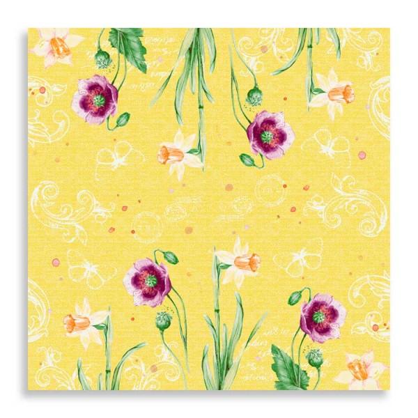 """40er Klassikserviette """"Spring Lilies"""""""