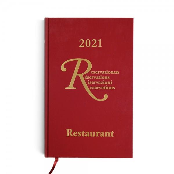 Restaurant Reservierungsbuch 2021