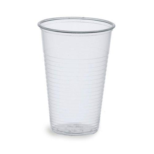 Trinkbecher transparent