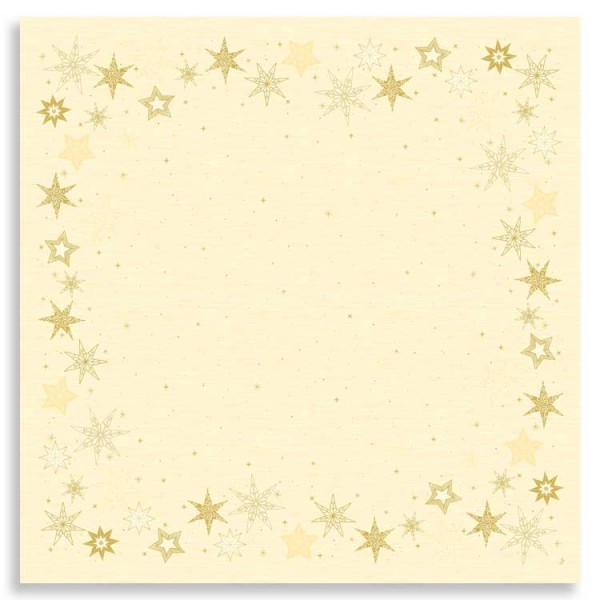 "Dunicel Mitteldecke ""Star Stories Cream"""