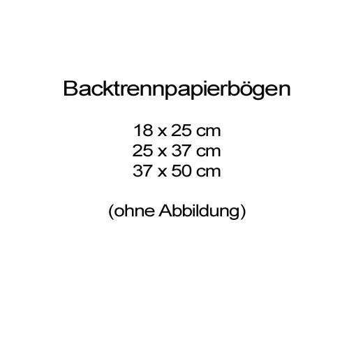 Backtrennpapier Bogen