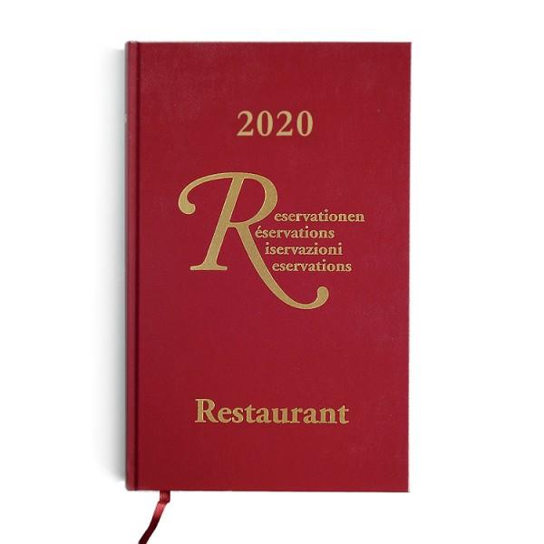 Restaurant Reservierungsbuch 2020