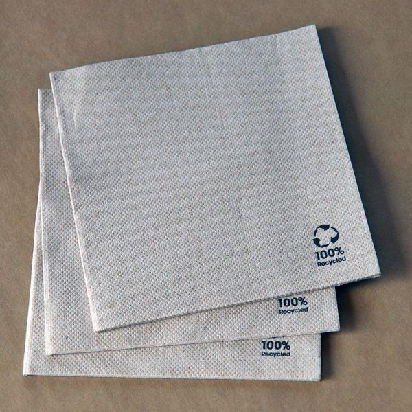 25er Servietten 1/4 Falz, Eco Label
