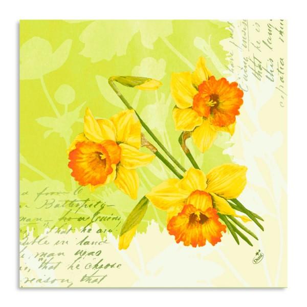 """Dunisoft Serviette """"Spring Flowers"""""""