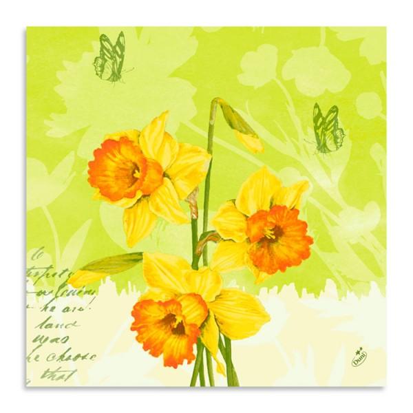 """40er Klassikserviette """"Spring Flowers"""""""