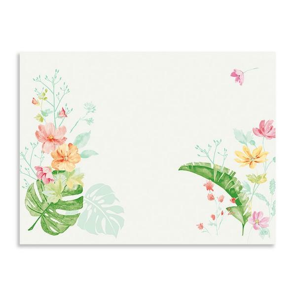 """Papier Tischsets """"Tropical Garden"""""""