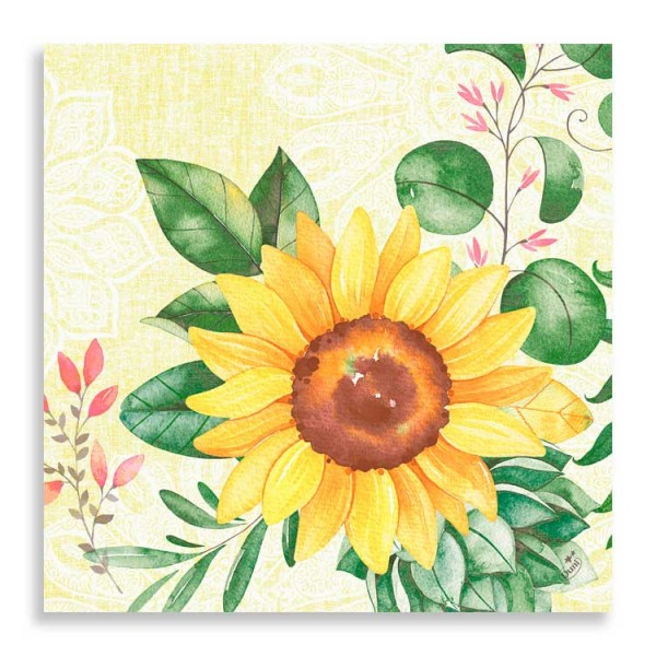 "Dunisoft Serviette ""Sunflower"""