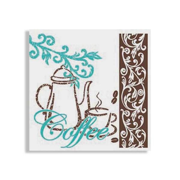 "Zelltuchserviette ""Coffee/Tea"""