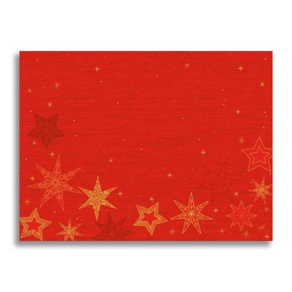 """Papier Tischset """"Star Stories Red"""""""