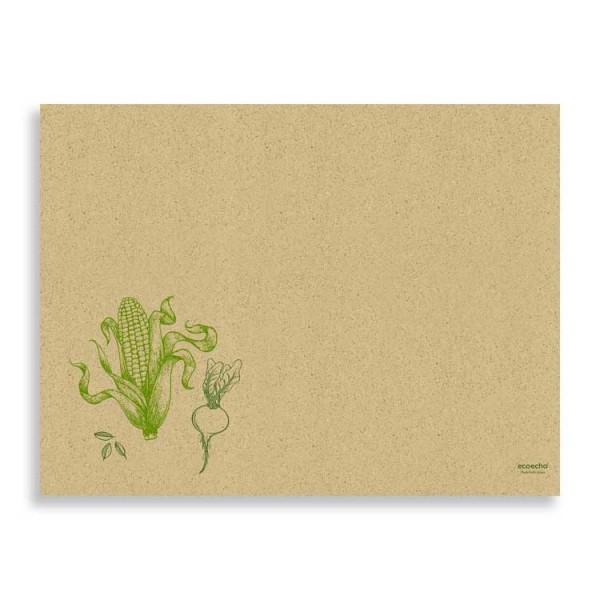"""Graspapier Tischset """"Veggies"""""""