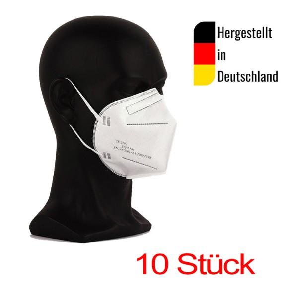 10 deutsche FFP2 Masken, CE2797