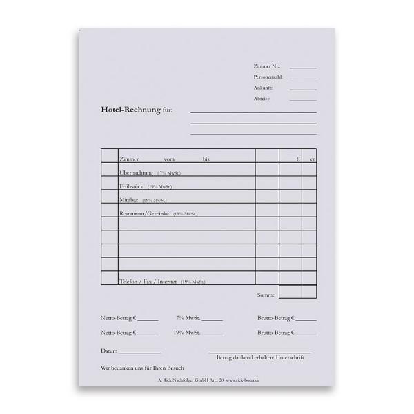 Rechnungsblock DIN A5