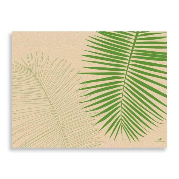 "Graspapier Tischset ""Leaf"""