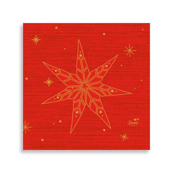 """24er Zelltuchserviette """"Star Stories Red"""""""