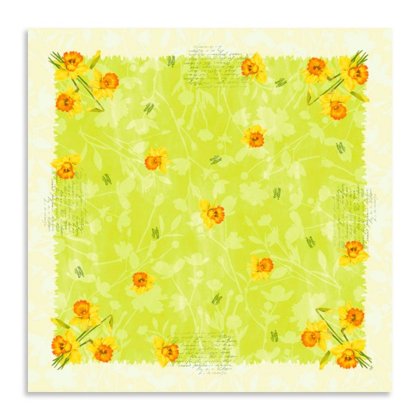 "Dunicel Mitteldecke ""Spring Flowers"""