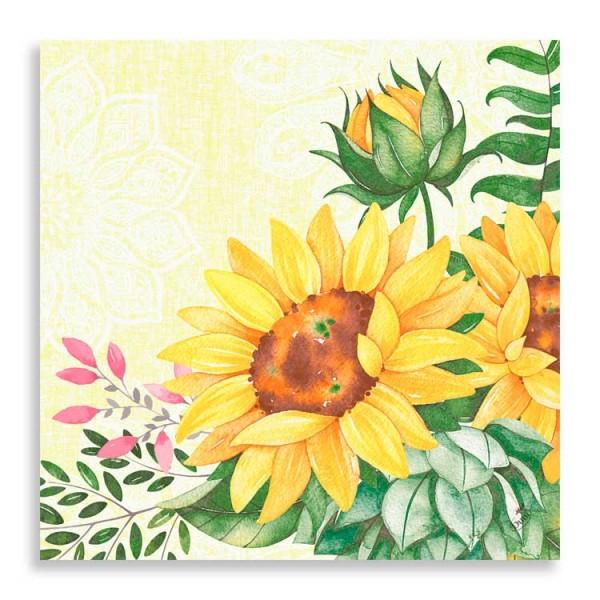 """40er Klassikserviette """"Sunflower"""""""