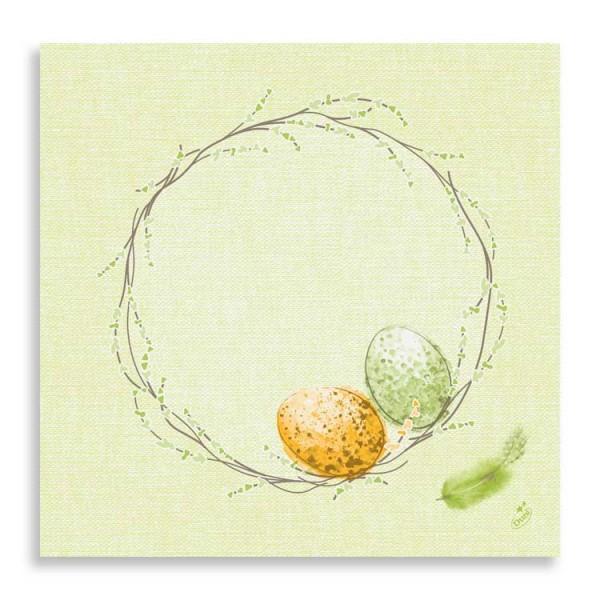 """40er Dunisoft Serviette """"Easter Pasture"""""""