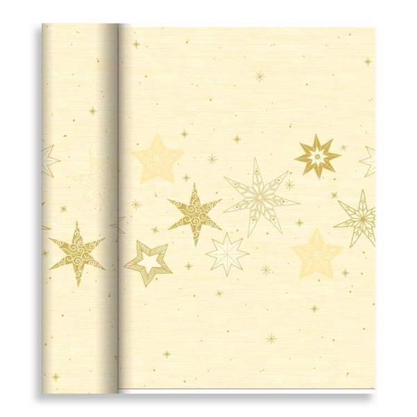 """Tischläufer Tête-à-Tête """"Star Stories Cream"""""""