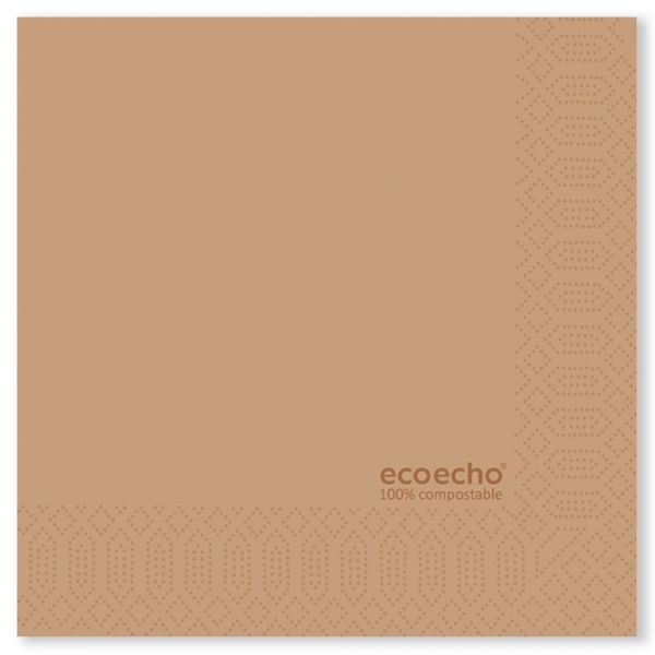 24 cm Zelltuchservietten ecoecho