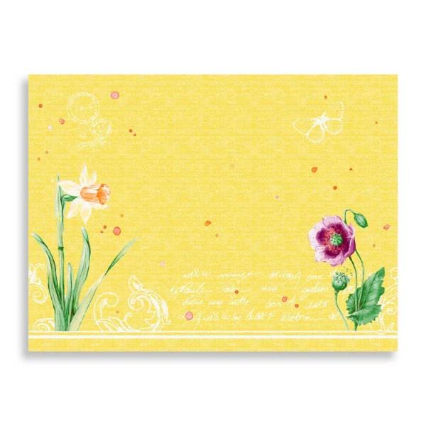 "Papier Tischset ""Spring Lilies"""