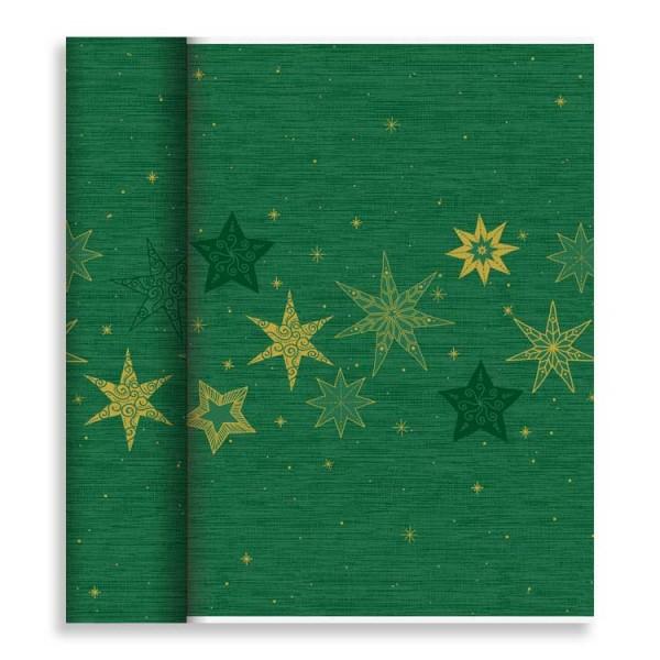 """Tischläufer Tête-à-Tête """"Star Stories Green"""""""